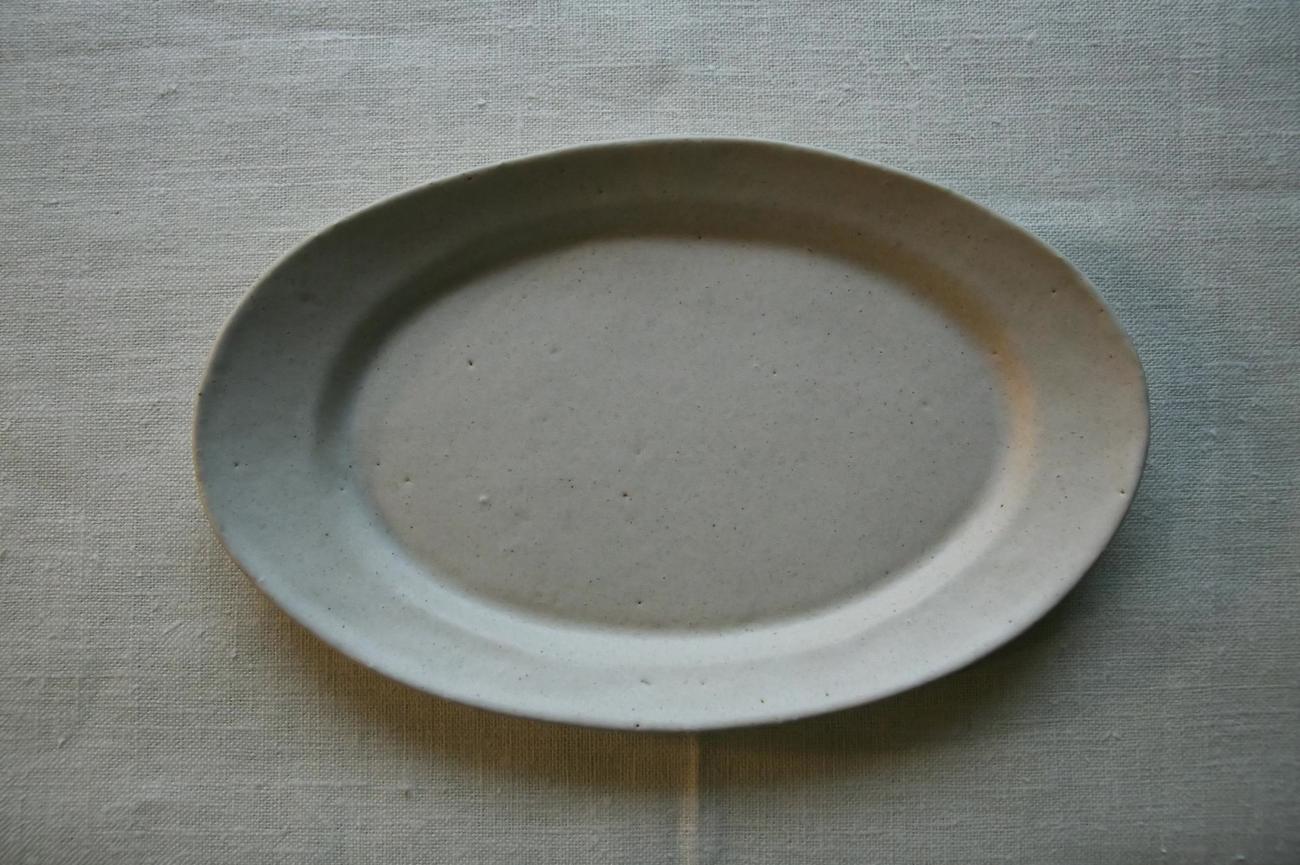 リムオーバル皿