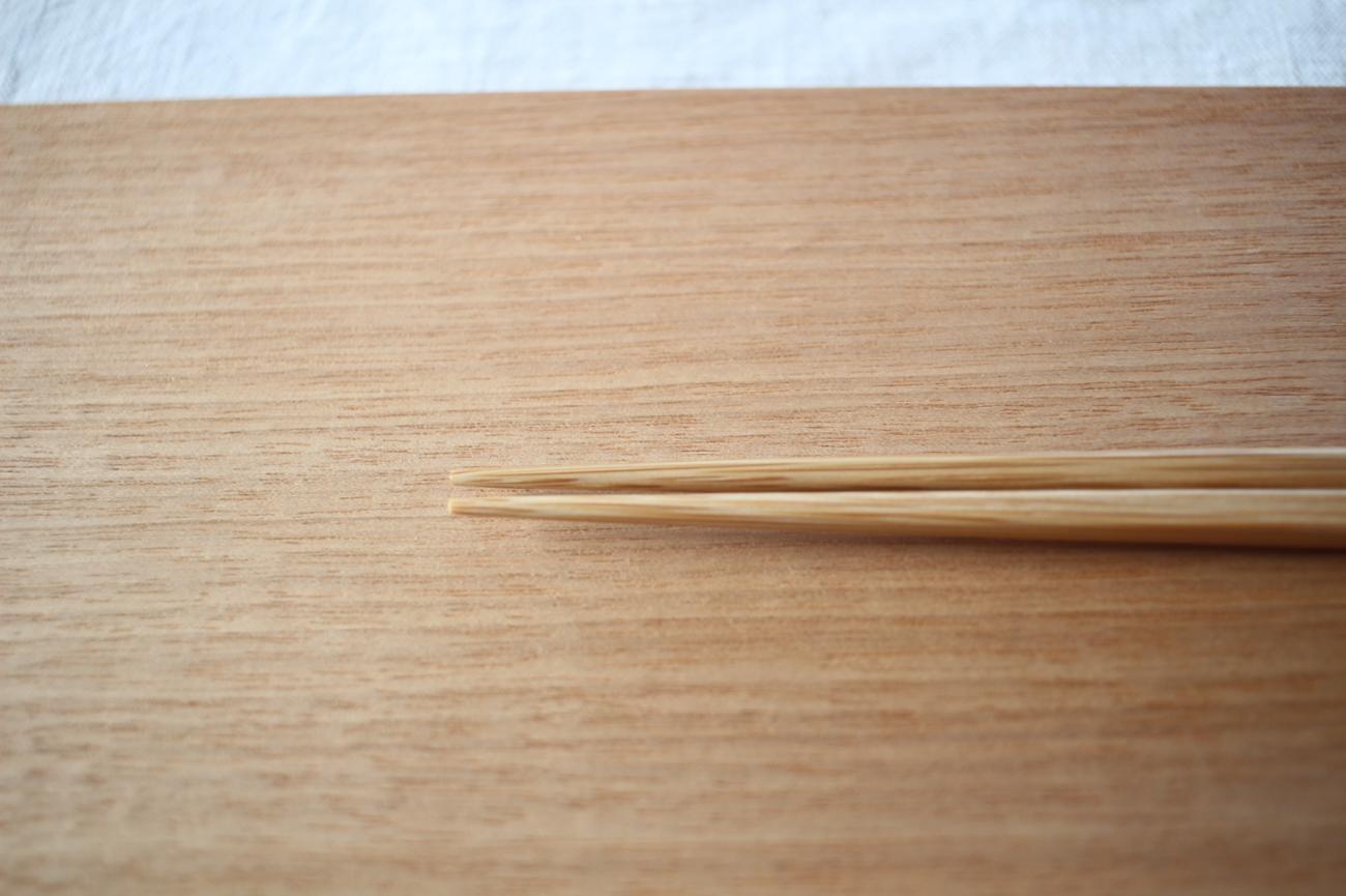 ダイヤカット研出箸(黒)