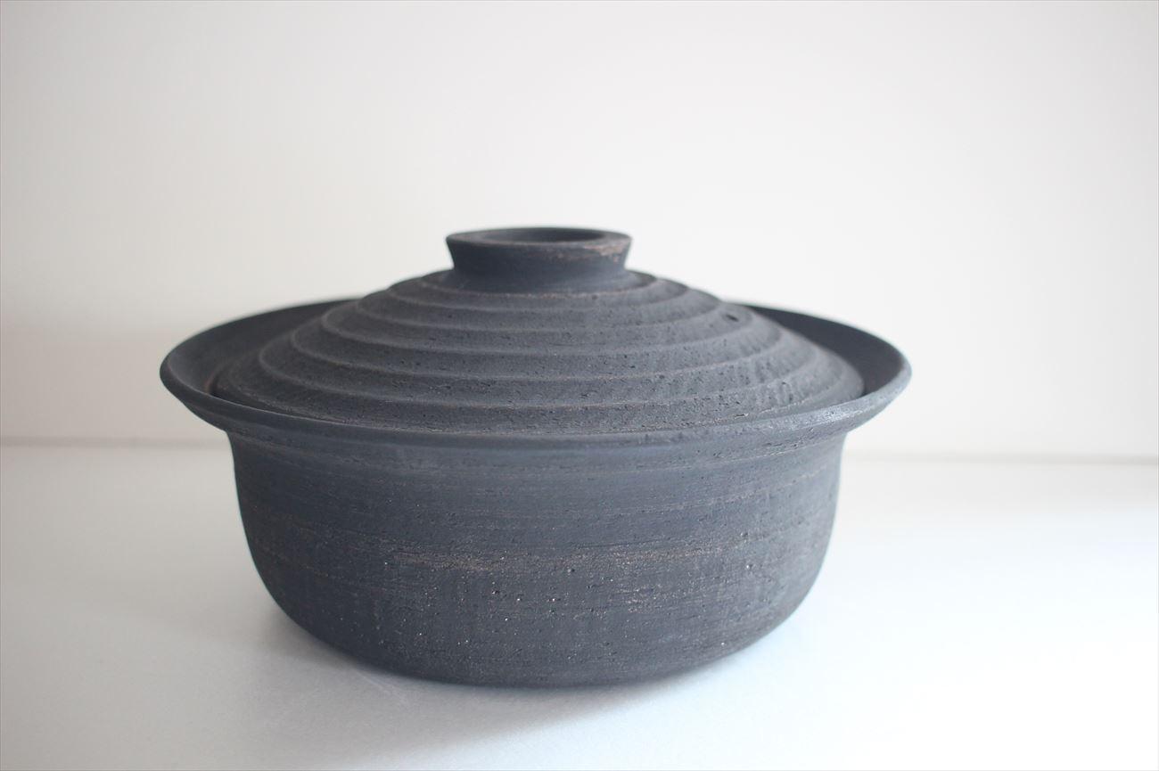黒土鍋 深鍋3合