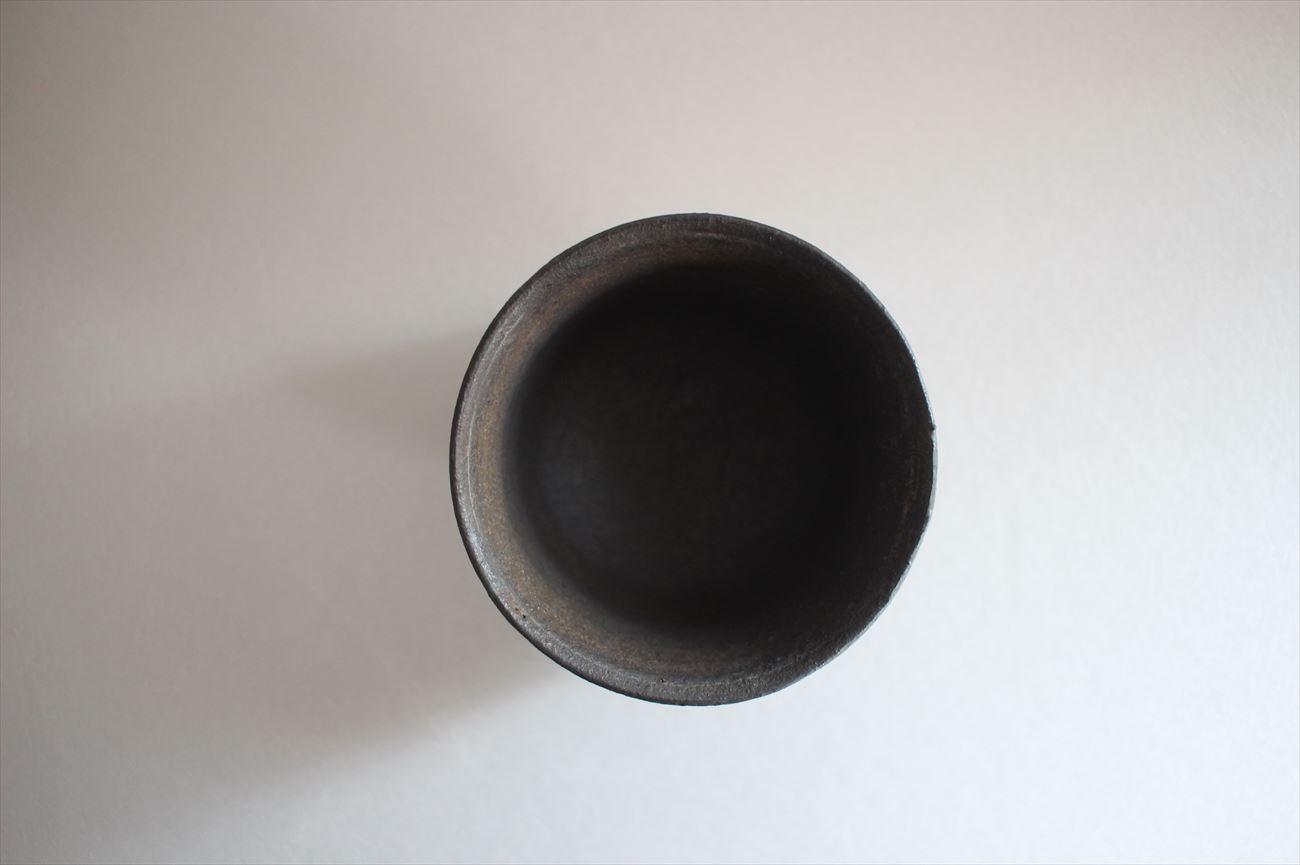 くみ出し(角) 黒釉