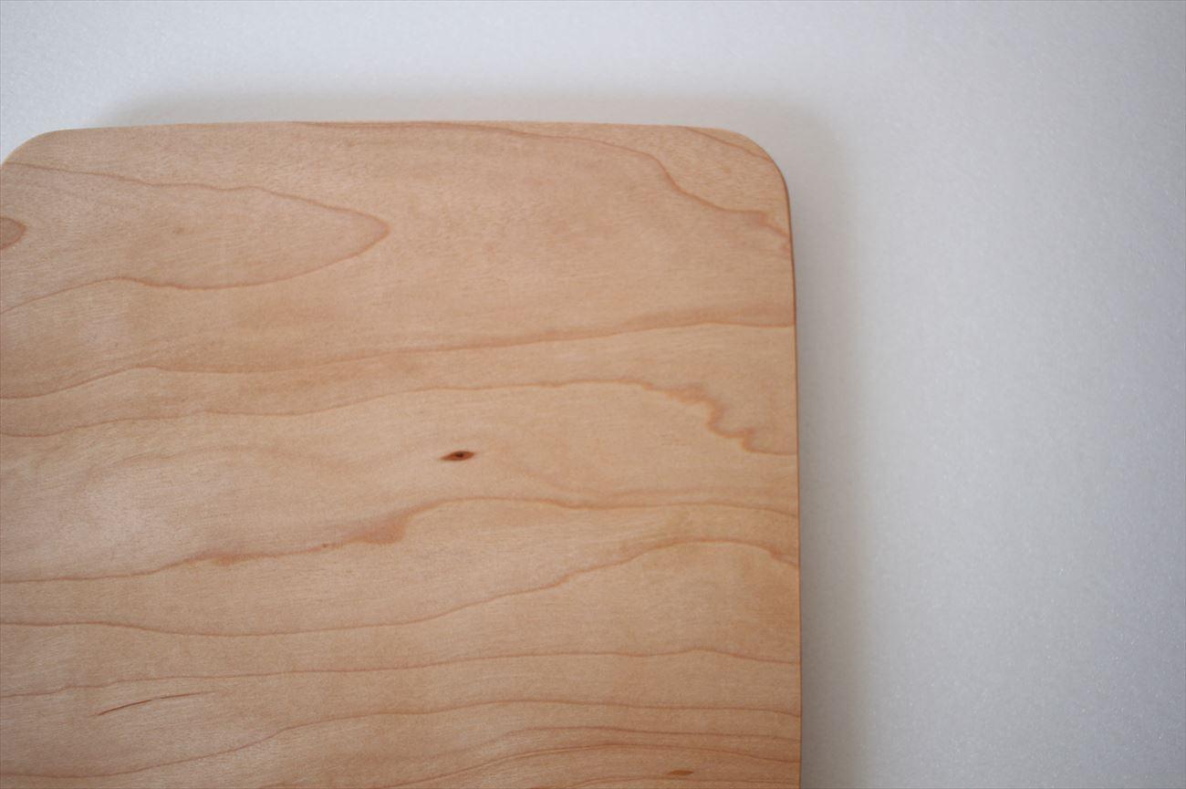 木のトレー 正方形(L) メープル