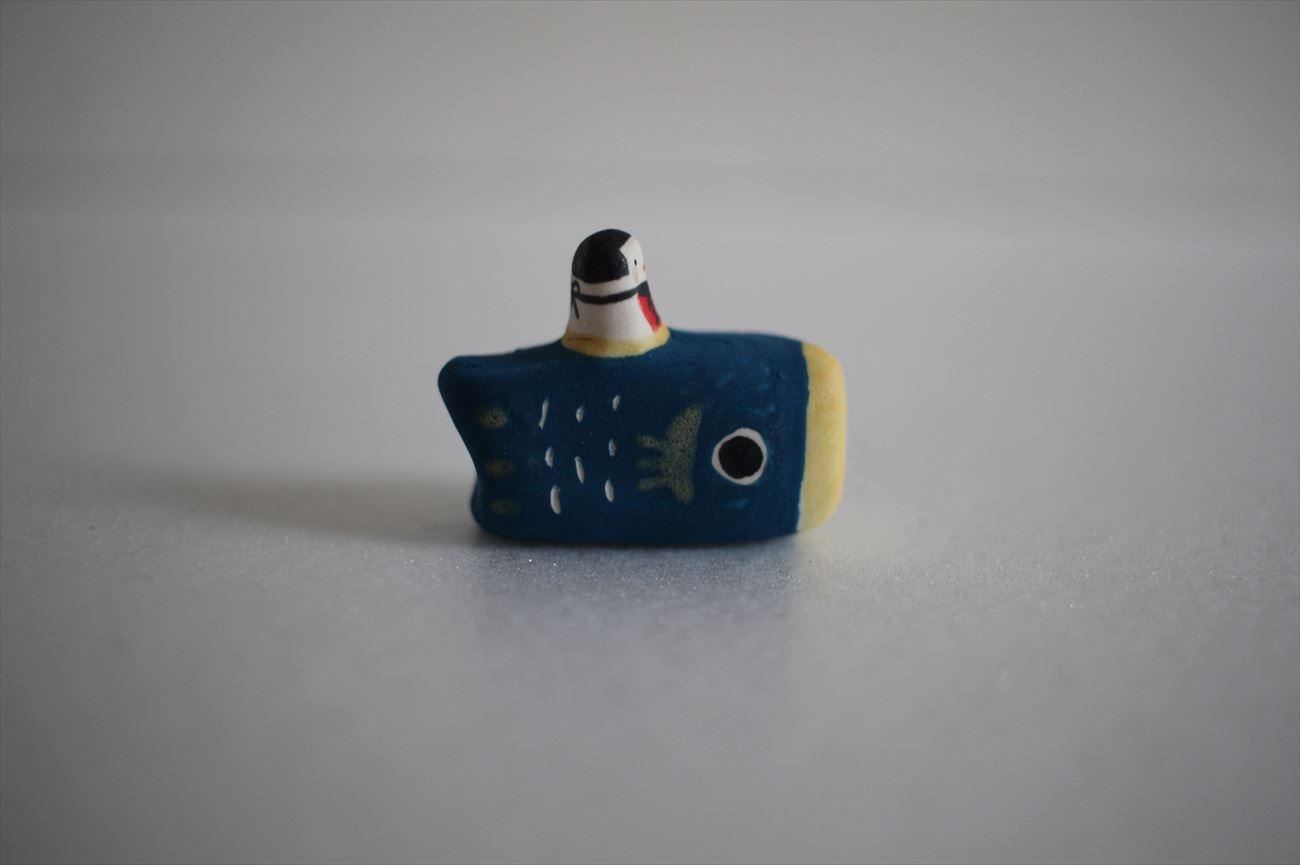フェーヴ 鯉のぼり 青