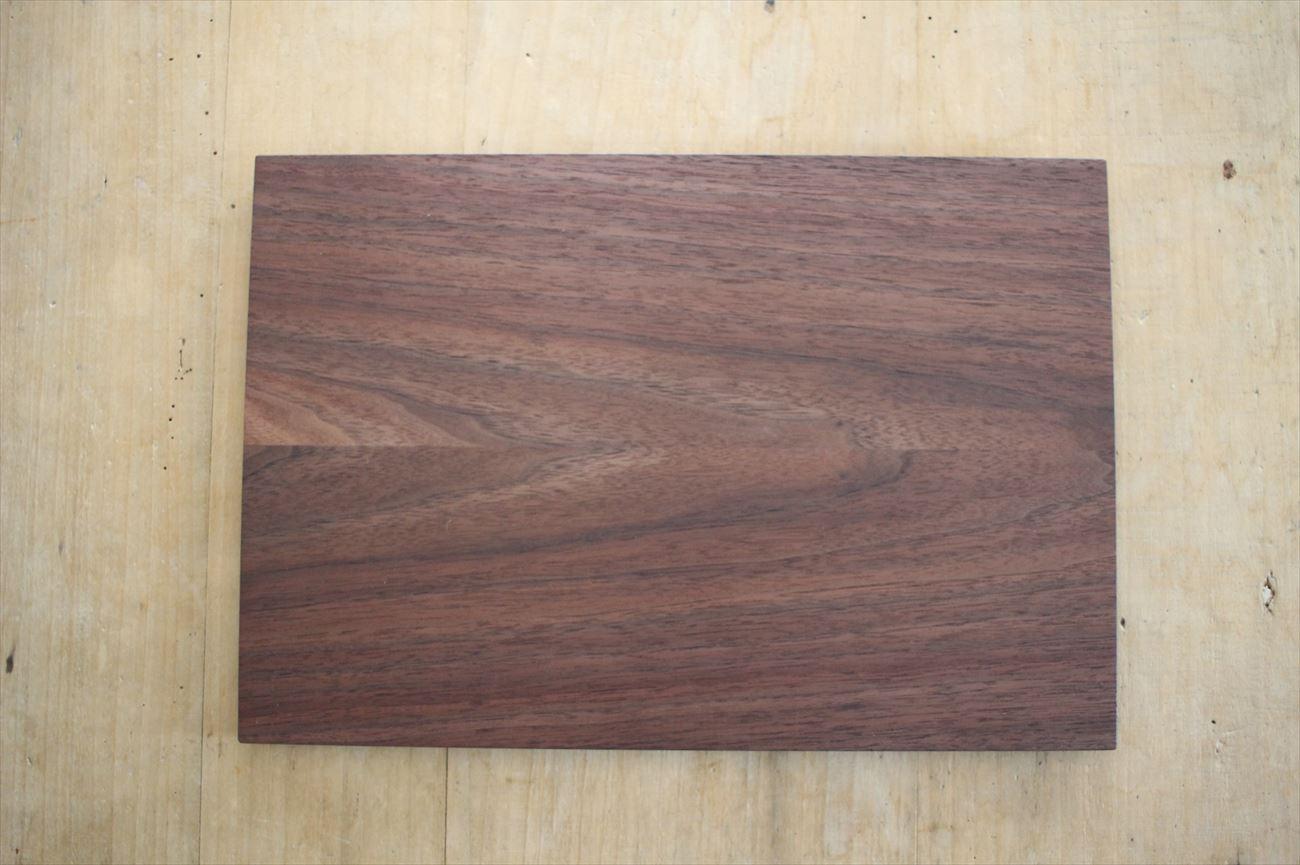 木のトレイ(お膳サイズ)ウォルナット材