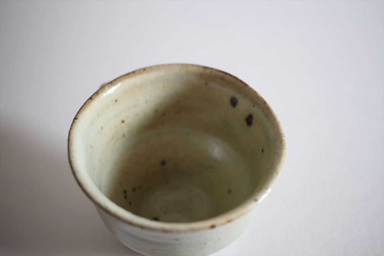もみ灰釉コーヒーカップ