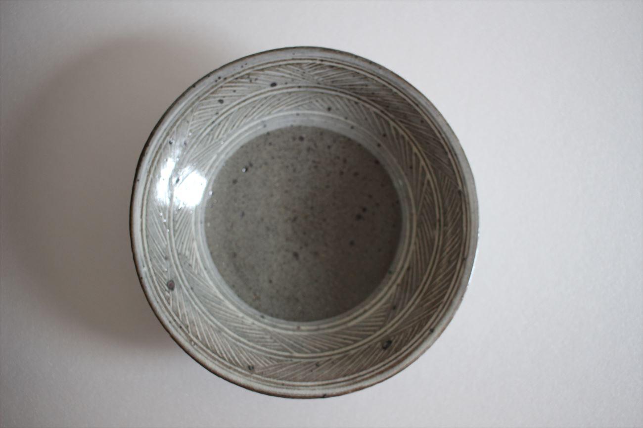 三島6寸平鉢①