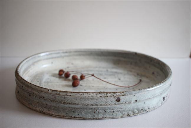 三島オーバルドラ鉢
