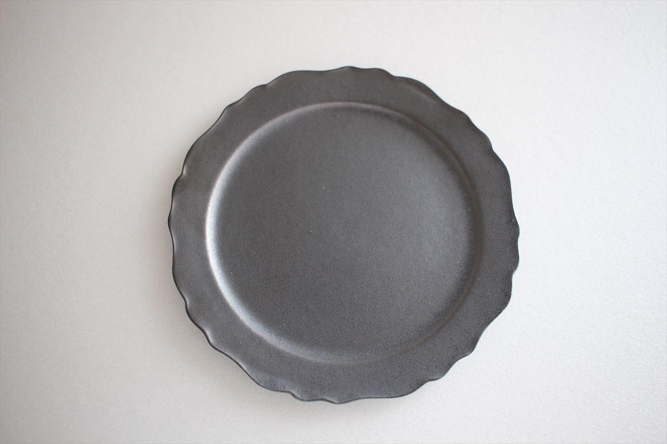 4寸デコリム皿(黒)