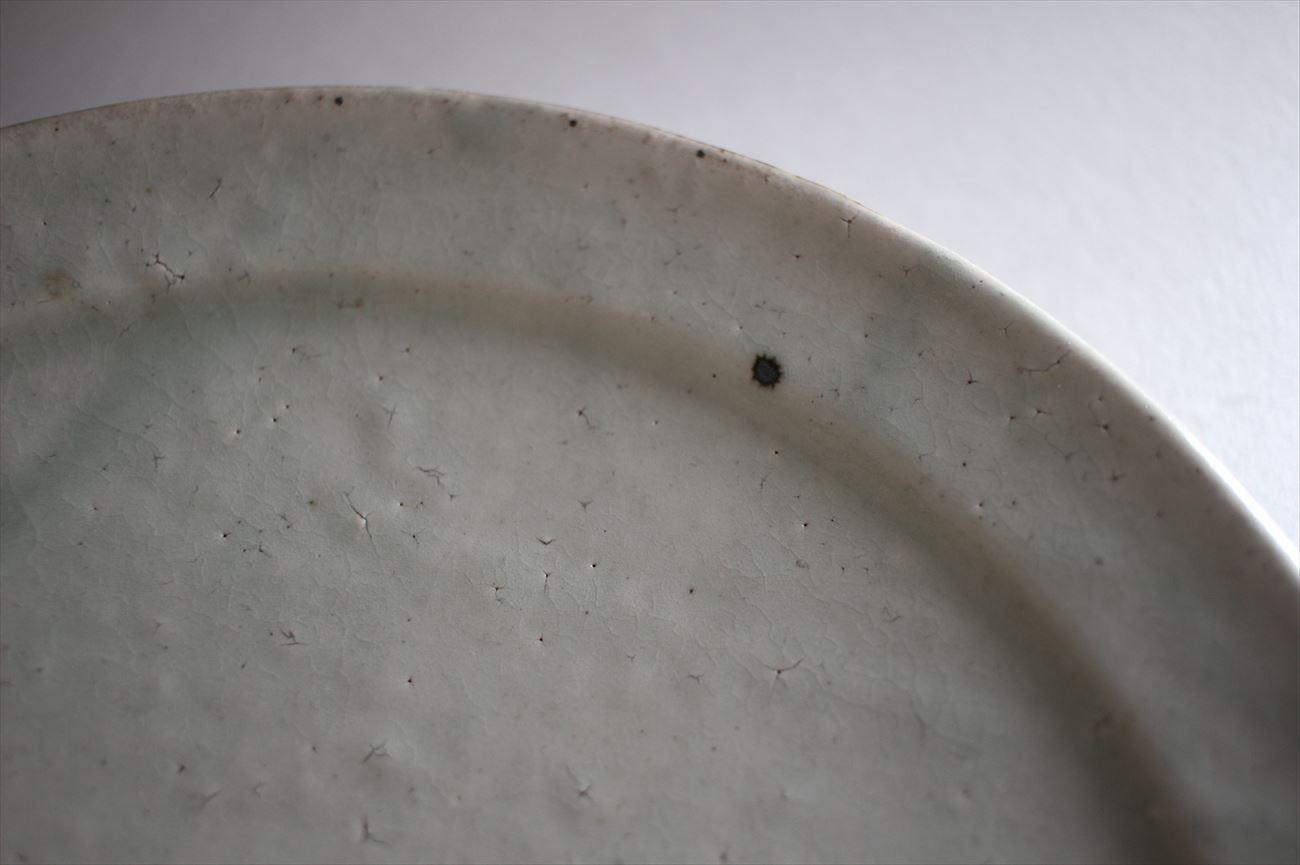 粉引7寸リム皿