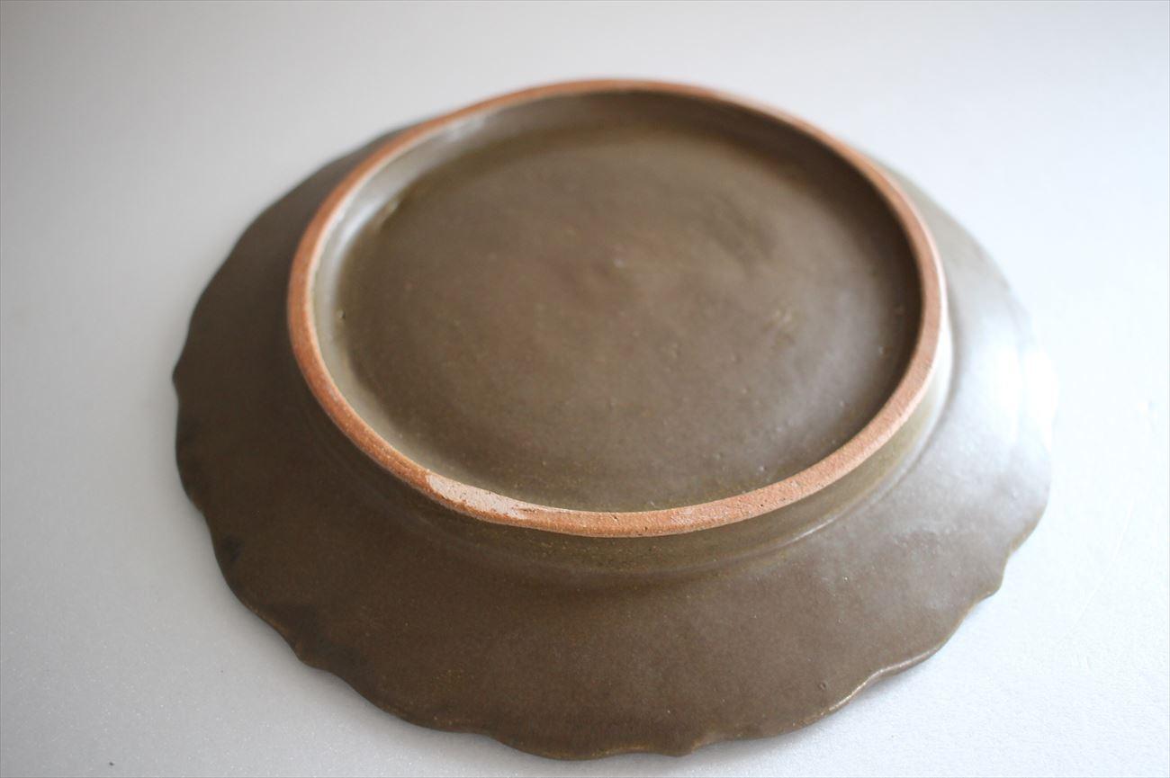 陽刻皿 オリーブ