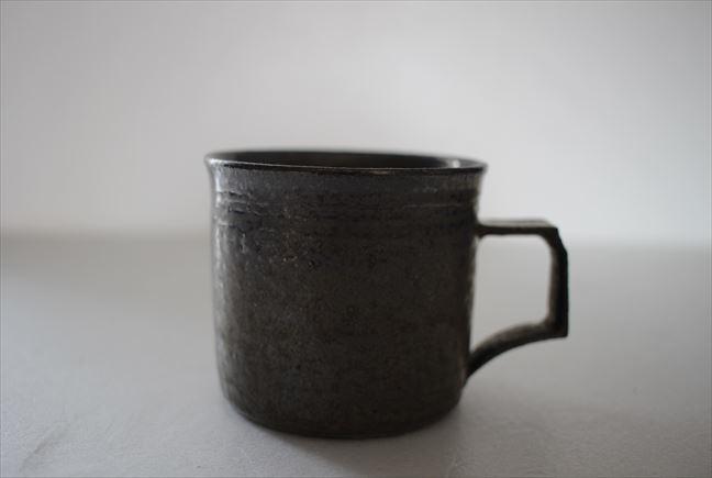 金ラスターコーヒーカップ